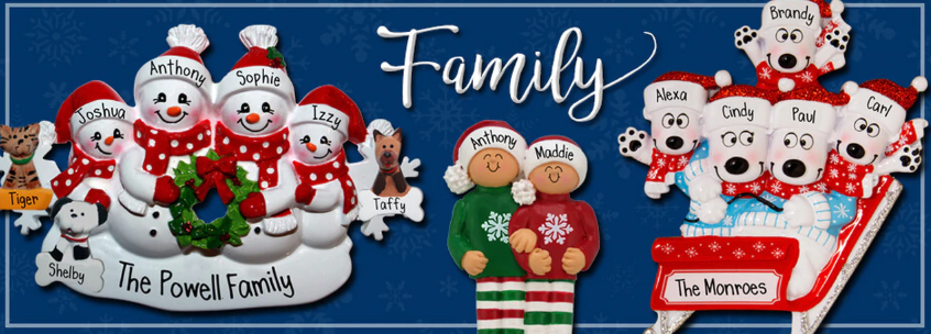 Family Ornaments