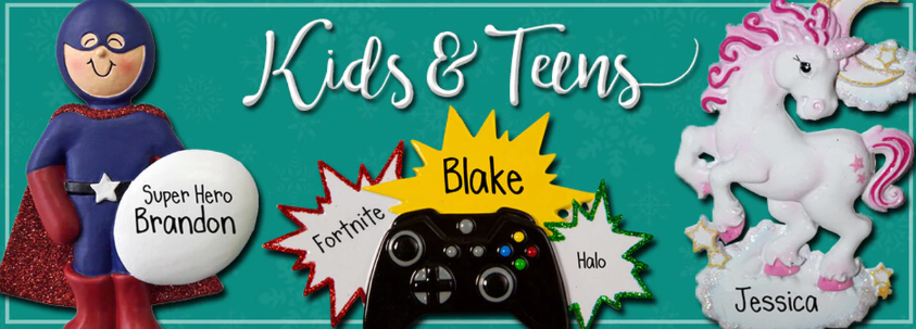 Kids and Teens Ornaments