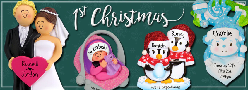 1st Christmas Ornaments